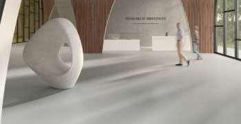 Gerflor med PVC-fritt homogent gulv